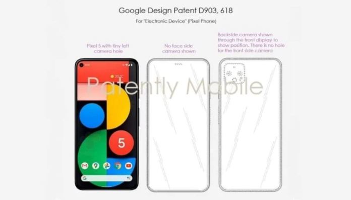 pixel 6 patent