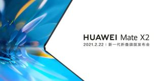 huawei mate x2 invitation