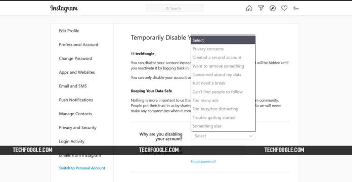 instagram_temporarily_deactivate_account_screenshot_TechFoogle