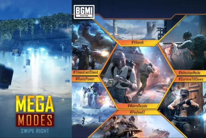 BGMI NEW PUBG Modes