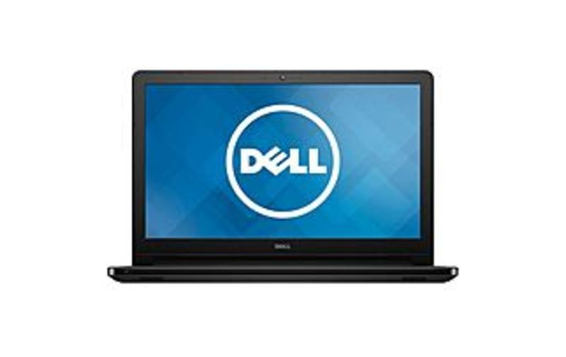 The Dell Inspiron 15 5000 Series I5552-4392BLK Laptop PC Stays powered for up to 8 hours. Battery life will vary depending on the product configuration, product model, applications loaded on the product it is power management setting of the product. As with all batteries, the maximum capacity of this battery will decrease with time and usage. Efficient data entry. Crunch numbers or navigate spreadsheets and documents quickly with a 10-digit numeric keypad. Intel, the Intel Logo, Intel Inside, Intel Core, and Core Inside are trademarks of Intel Corporation in the U.S. and/or other countries.