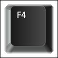 The F4 key