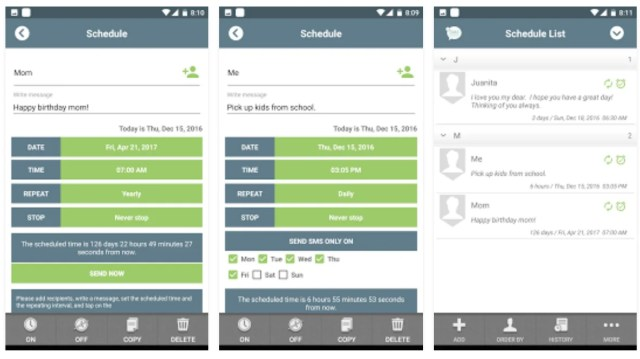 sms-scheduler-app-apk-screens