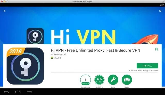 Download Hi VPN for PC (Windows 7, 8, 10 and Mac