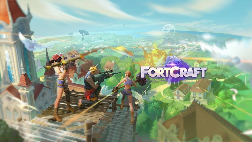 fortcraft-play-online-using-bluestacks