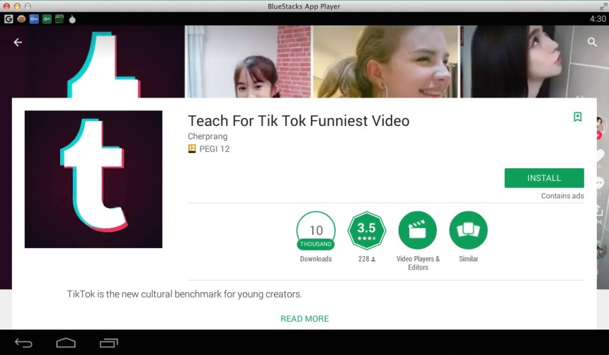 Download and Install Tik Tok for PC - Windows and Mac