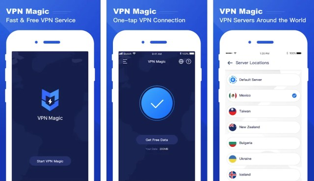 vpn-magic-android-app-features
