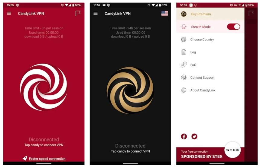 candylink-vpn-app-features