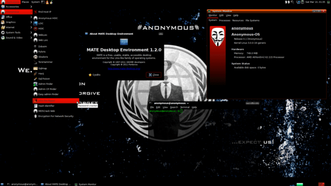 live-hacking-os