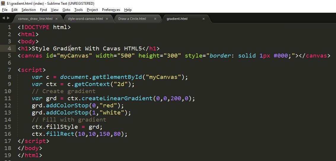 code_gradeint