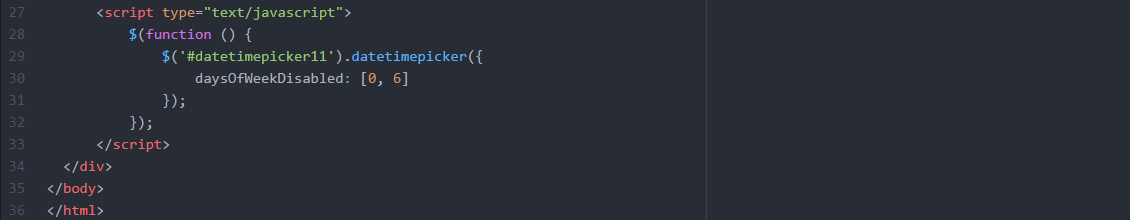 disable-date-of-the-week-coding101