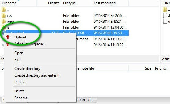 filezilla-upload
