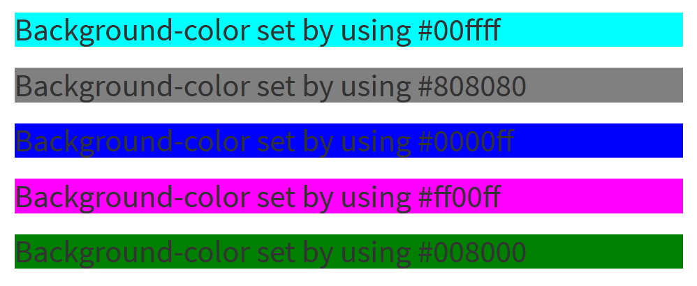 hex-color-html5