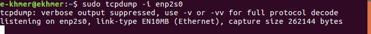linux-tcpdump-i-network