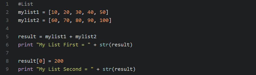 lsit_replace_python