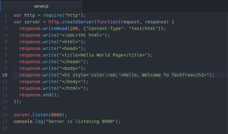 nodejs-web-server