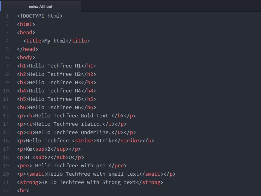 index-code