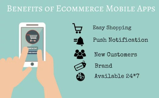 Benefits of mobile commerce for businesses by Techfunnel