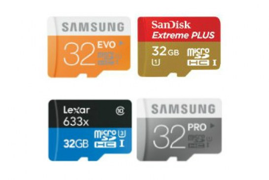 The best micro SD cards of 2017 for photography, gopro and action cams