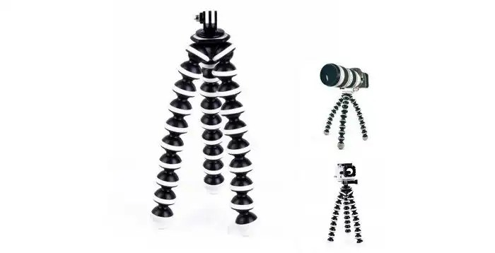 Octopus-tripod-action-camera
