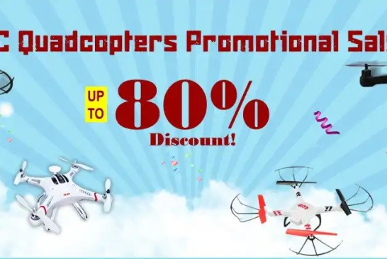 RC promotions: cars and drones