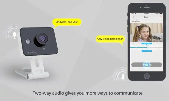 Zmodo ZM - SH75D001 Mini WiFi Camera8