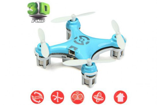 Cheerson CX-10 review of the smallest quadcopter