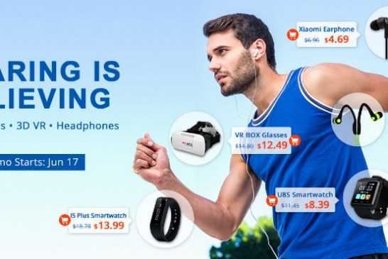 Wearable devices sale promotion