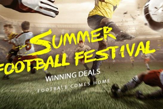 Summer football festival: promotions!