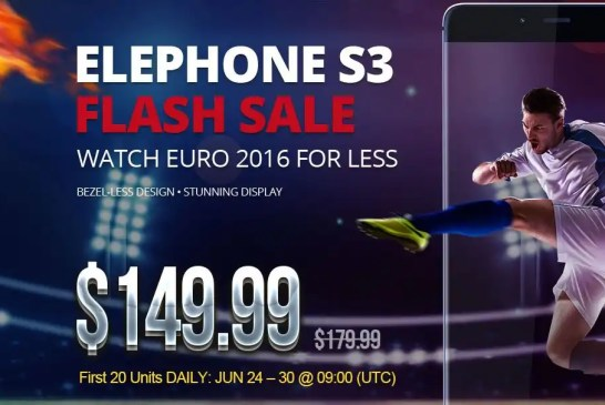 Elephone S3 Flash sale