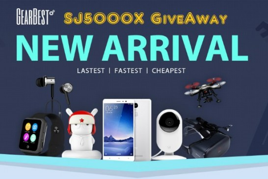 Giveaway: one FREE SJ5000X for one user!