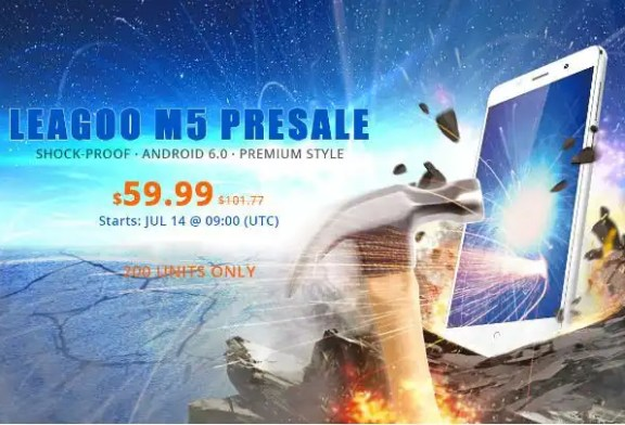 Leagoo M5 presale