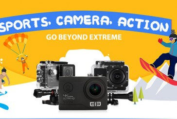 New action camera promotions
