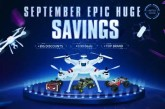 Big promotion on drones and RC cars