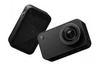 Xiaomi Mijia review - small action camera 4k touchscreen