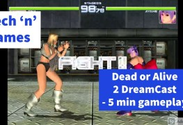 Dead or Alive 2 DreamCast ad sp