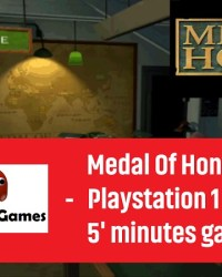Medal Of Honor PS1 5 minutes gameplay thumb