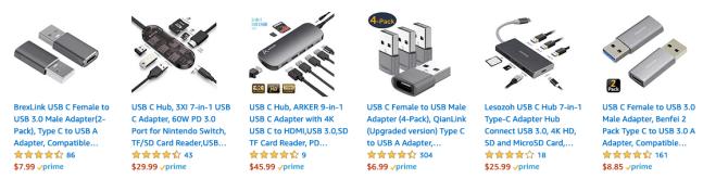 Amazon USB-C