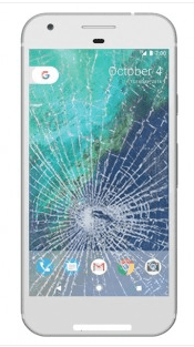 Broken Google Pixel