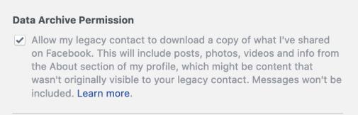 FB memorial download