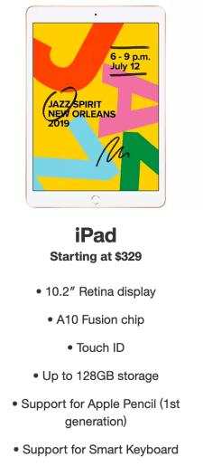 iPad Target Sale
