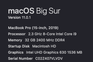 OS Big Sur
