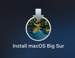 icon install macos big sur
