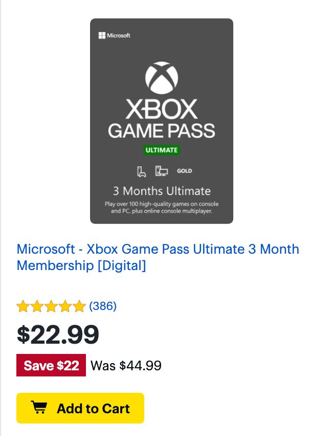 BB Gamepass Nov 2020
