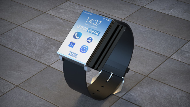 IBM Smartwatch Into Smartphone