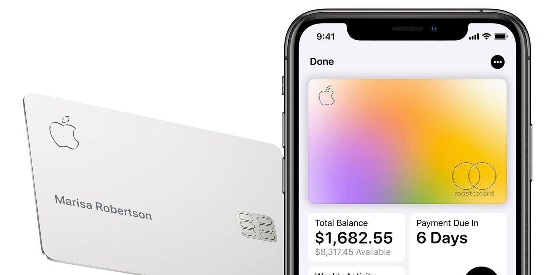 Apple card colour change
