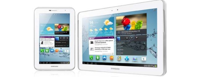 Samsung Galaxy Tab 2 10.1 and 7.0 in Singapore from this weekend