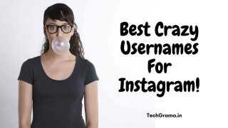 Crazy Instagram Usernames, Crazy Usernames For Instagram, Crazy Instagram Names, Crazy Insta Profile Names, Crazy Names For Instagram