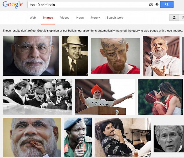 top 10 criminals in google image search