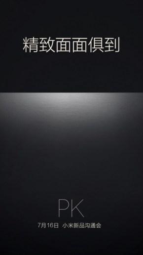 Xiaomi teaser poster 16 july